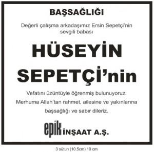Hurriyet-vefat-ilani-huseyin-sepetci-basal