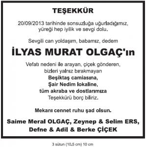 Hurriyet-vefat-ilani-ilyas-murat-olga-teekkr-ilan-rnei-298x300