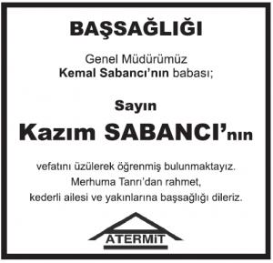 Hurriyet-vefat-ilani-kazim-sabanc-basal-ilan