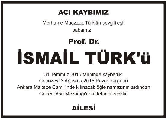 vefat-ilanı-prof-doktor-ismail-türk-vefat