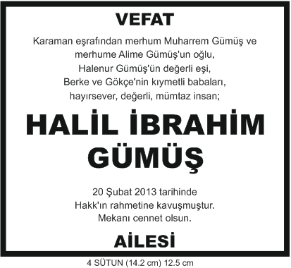 vefat-ilanı-halil-ibrahim-gümüş-vefat-ilanı